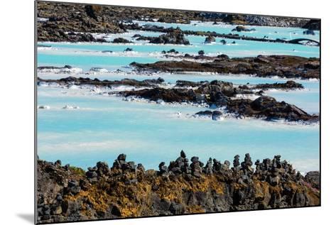 Peninsula Reykjanes, Blue Lagoon-Catharina Lux-Mounted Photographic Print