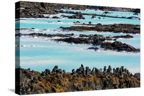 Peninsula Reykjanes, Blue Lagoon-Catharina Lux-Stretched Canvas Print