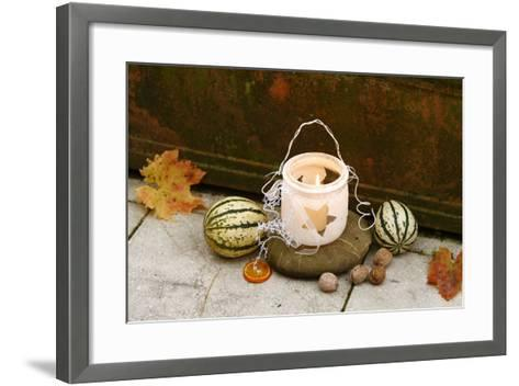 Christmas Decoration, Wind Light- Fact-Framed Art Print