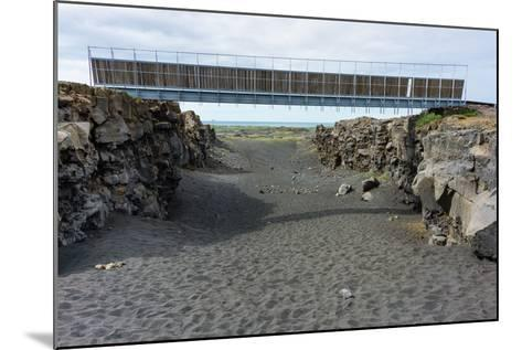Bridge Between the Continents, Crack Between North American and European Continental Plate-Catharina Lux-Mounted Photographic Print