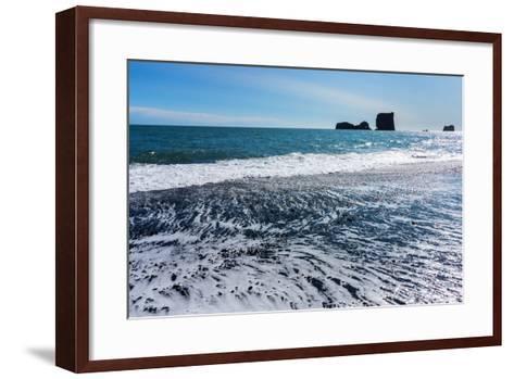 Iceland, Dyrholaey-Catharina Lux-Framed Art Print