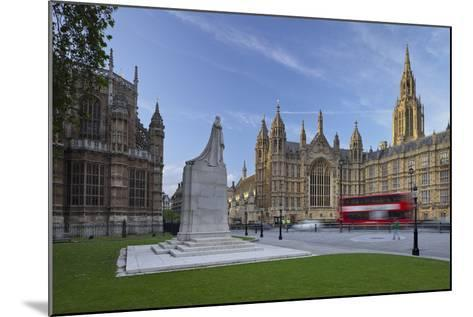 Westminster Palace, London, England, Great Britain-Rainer Mirau-Mounted Photographic Print