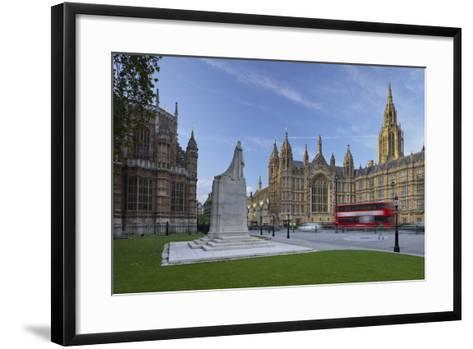 Westminster Palace, London, England, Great Britain-Rainer Mirau-Framed Art Print