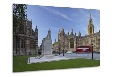 Westminster Palace, London, England, Great Britain-Rainer Mirau-Metal Print