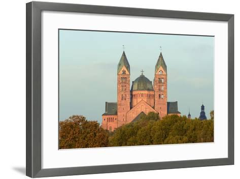Speyer, Imperial Cathedral, Unesco-World Cultural Heritage, Sunrise, Rhineland-Palatinate, Germany-Ronald Wittek-Framed Art Print
