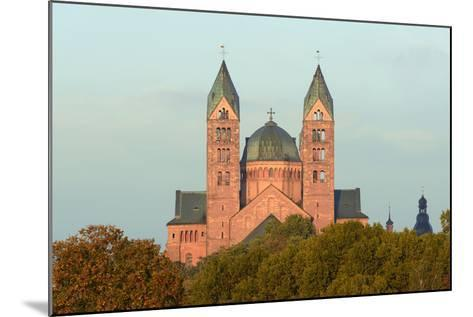 Speyer, Imperial Cathedral, Unesco-World Cultural Heritage, Sunrise, Rhineland-Palatinate, Germany-Ronald Wittek-Mounted Photographic Print