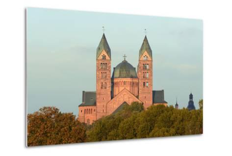 Speyer, Imperial Cathedral, Unesco-World Cultural Heritage, Sunrise, Rhineland-Palatinate, Germany-Ronald Wittek-Metal Print