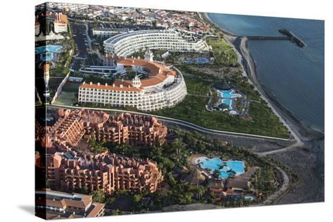 Tenerife, Five Star Hotel, Swimming Pools, La Caleta, Playa De La Enramada-Frank Fleischmann-Stretched Canvas Print