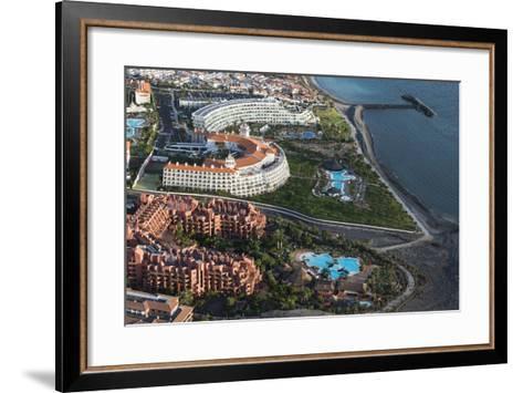 Tenerife, Five Star Hotel, Swimming Pools, La Caleta, Playa De La Enramada-Frank Fleischmann-Framed Art Print