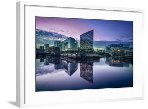 Germany, Hamburg, Hafencity, Ericusspitze, Der Spiegel (News Magazine)-Ingo Boelter-Framed Art Print