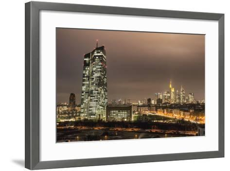 Frankfurt on the Main, Hessen, Europe-Bernd Wittelsbach-Framed Art Print