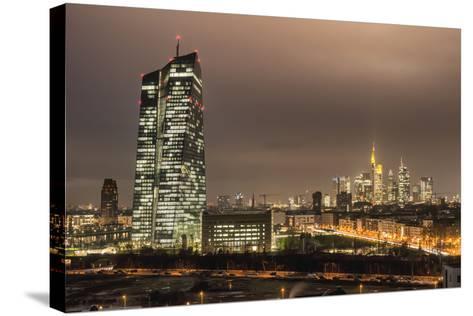 Frankfurt on the Main, Hessen, Europe-Bernd Wittelsbach-Stretched Canvas Print