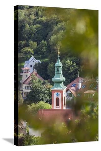 Parish Church of Kahlenbergerdorf, 19th Area, Dšbling, Vienna, Austria-Gerhard Wild-Stretched Canvas Print