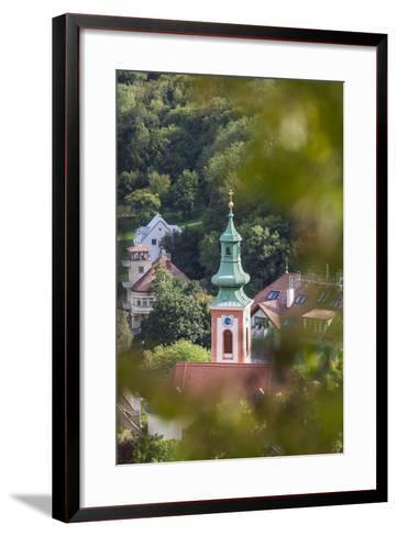 Parish Church of Kahlenbergerdorf, 19th Area, Dšbling, Vienna, Austria-Gerhard Wild-Framed Art Print