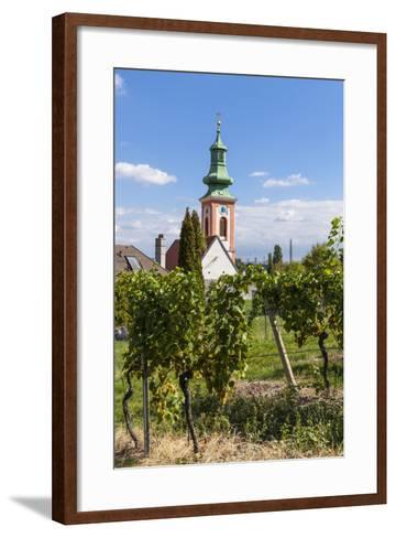 Parish Church of Kahlenbergerdorf, 19th Area, Dšbling, Vienna, Austria-Gerhard Wild-Framed Art Print