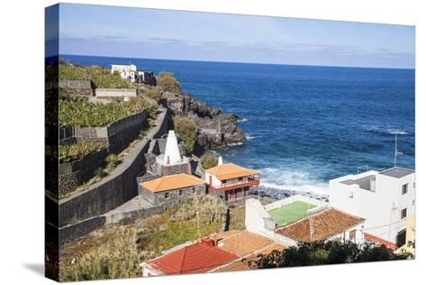 Coast in San AndrŽs, La Palma, Canary Islands, Spain, Europe-Gerhard Wild-Stretched Canvas Print