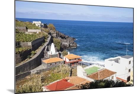 Coast in San AndrŽs, La Palma, Canary Islands, Spain, Europe-Gerhard Wild-Mounted Photographic Print