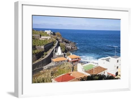 Coast in San AndrŽs, La Palma, Canary Islands, Spain, Europe-Gerhard Wild-Framed Art Print