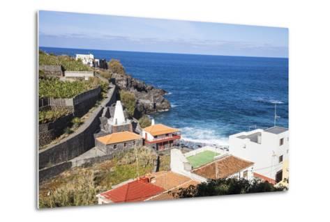 Coast in San AndrŽs, La Palma, Canary Islands, Spain, Europe-Gerhard Wild-Metal Print