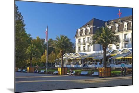 Germany, Weser Hills, Lower Saxony, Bad Pyrmont, Health Resort Park-Chris Seba-Mounted Photographic Print