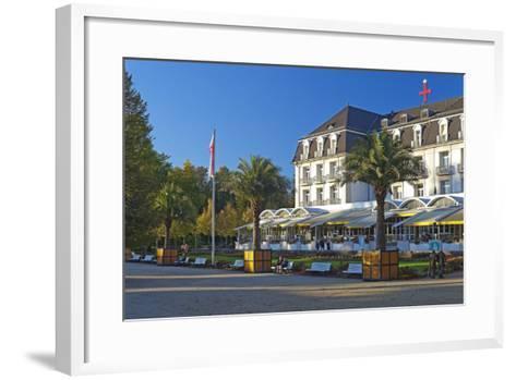 Germany, Weser Hills, Lower Saxony, Bad Pyrmont, Health Resort Park-Chris Seba-Framed Art Print