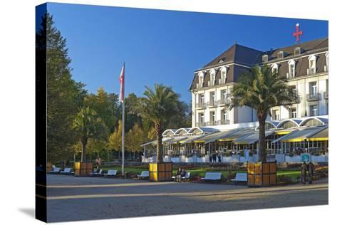 Germany, Weser Hills, Lower Saxony, Bad Pyrmont, Health Resort Park-Chris Seba-Stretched Canvas Print