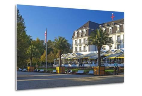 Germany, Weser Hills, Lower Saxony, Bad Pyrmont, Health Resort Park-Chris Seba-Metal Print
