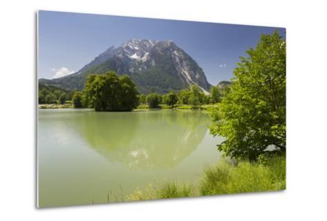 Fish Ponds Intrautenfels, Grimming, Ennstal, Styria, Austria-Rainer Mirau-Metal Print