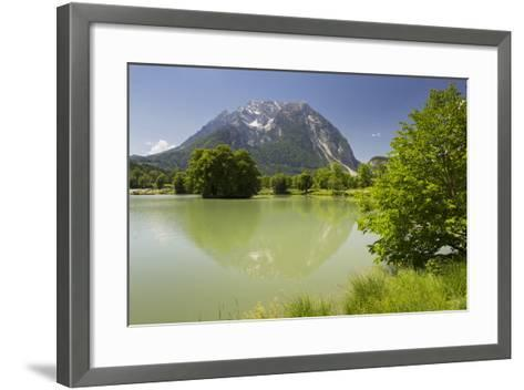 Fish Ponds Intrautenfels, Grimming, Ennstal, Styria, Austria-Rainer Mirau-Framed Art Print