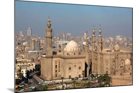 Egypt, Cairo, Citadel, View at Mosque-Madrassa of Sultan Hassan-Catharina Lux-Mounted Photographic Print
