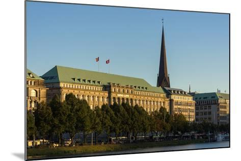 Hamburg, the Inner Alster, Hapag House-Catharina Lux-Mounted Photographic Print