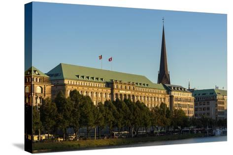 Hamburg, the Inner Alster, Hapag House-Catharina Lux-Stretched Canvas Print
