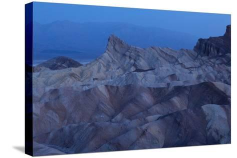 USA, Death Valley National Park, Zabriskie Point, Sunrise-Catharina Lux-Stretched Canvas Print