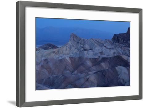 USA, Death Valley National Park, Zabriskie Point, Sunrise-Catharina Lux-Framed Art Print