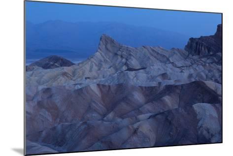 USA, Death Valley National Park, Zabriskie Point, Sunrise-Catharina Lux-Mounted Photographic Print