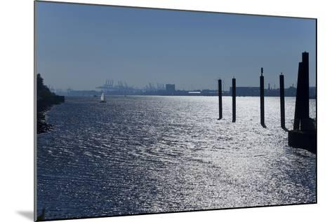 Europe, Germany, Hamburg, Hamburg Harbour, Lading Port-Chris Seba-Mounted Photographic Print