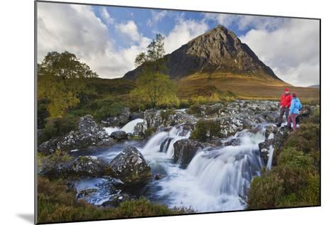 Great Britain, Scotland, Highlands, Invernessshire, Glen Coe-Rainer Mirau-Mounted Photographic Print