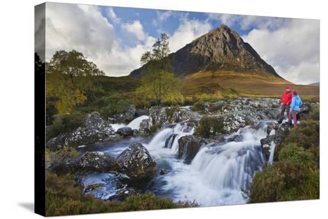 Great Britain, Scotland, Highlands, Invernessshire, Glen Coe-Rainer Mirau-Stretched Canvas Print