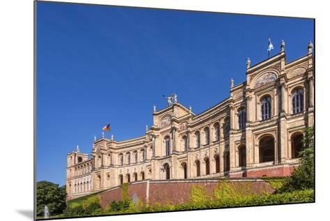 Germany, Bavaria, Upper Bavaria, Munich, Haidhausen District, Maximilianeum, Bavarian Parliament-Udo Siebig-Mounted Photographic Print