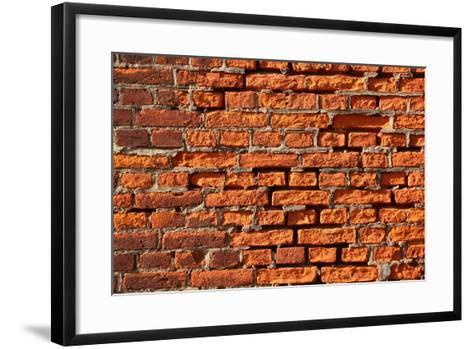 Brick Wall-Catharina Lux-Framed Art Print