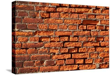 Brick Wall-Catharina Lux-Stretched Canvas Print