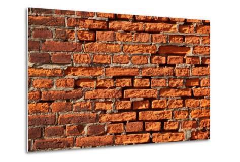 Brick Wall-Catharina Lux-Metal Print