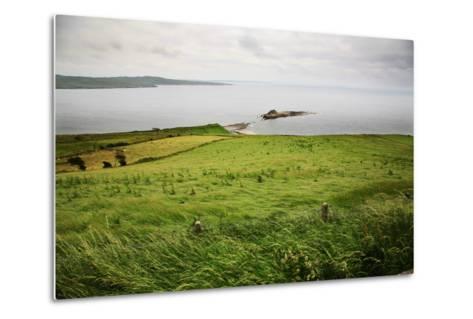 Northern Ireland, Antrim Coast, Glens- Bluehouseproject-Metal Print