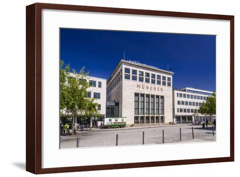 Germany, Bavaria, Upper Bavaria, Munich, Messestadt Riem, Neue Messe Munich, Wappenhalle-Udo Siebig-Framed Art Print
