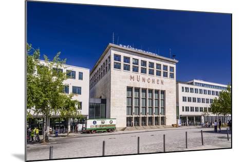 Germany, Bavaria, Upper Bavaria, Munich, Messestadt Riem, Neue Messe Munich, Wappenhalle-Udo Siebig-Mounted Photographic Print