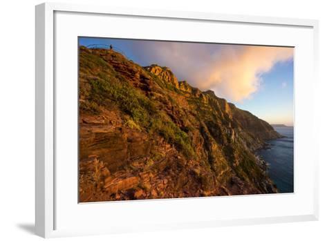 South Africa, Cape Peninsula, Chapman's Peak Drive-Catharina Lux-Framed Art Print