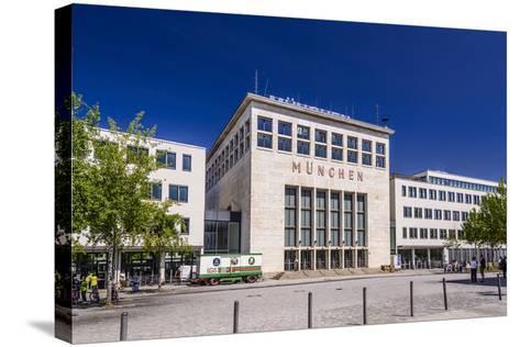Germany, Bavaria, Upper Bavaria, Munich, Messestadt Riem, Neue Messe Munich, Wappenhalle-Udo Siebig-Stretched Canvas Print