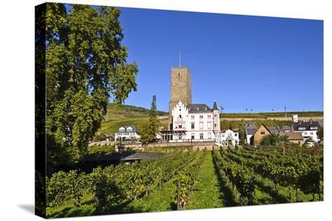 Germany, Hesse, Rheingau (Region), RŸdesheim Am Rhein (Town), Boosenburg-Udo Siebig-Stretched Canvas Print