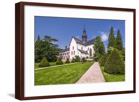 Germany, Hessen, Rheingau Area, Eltville Am Rhein, Cloister Eberbach-Udo Siebig-Framed Art Print