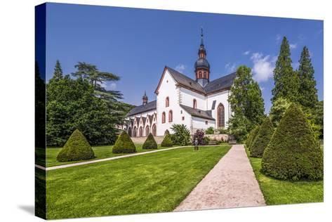 Germany, Hessen, Rheingau Area, Eltville Am Rhein, Cloister Eberbach-Udo Siebig-Stretched Canvas Print